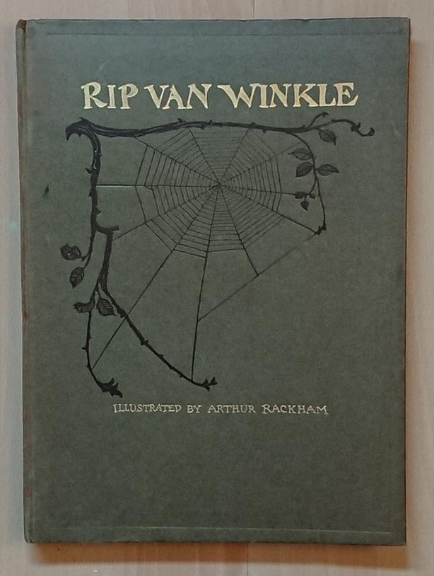 Rip van Winkle - Arthur Rackham, Irving Washington - Book New edition, 1919