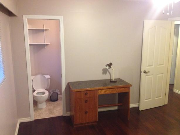 Nice furnished room with private bathroom for rent in Coldwood/Langford