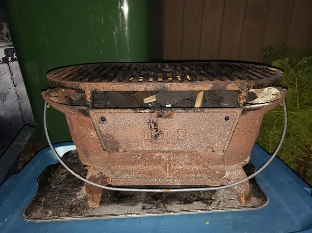 Free lodge cast iron hibachi