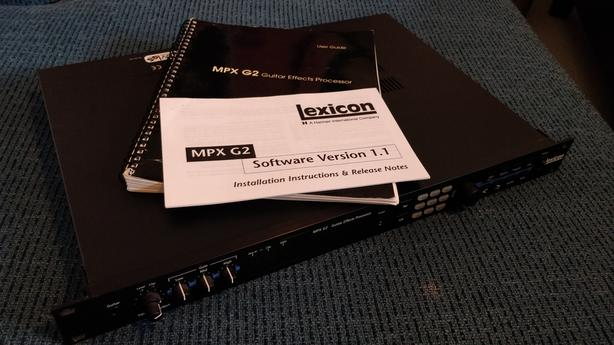 Lexicon MPX G2 & MPX-R1 foot controller