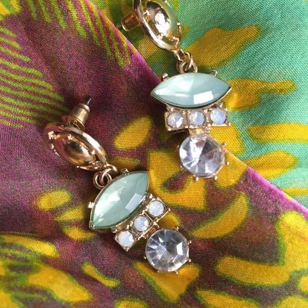 Deco Dirigible stud earrings