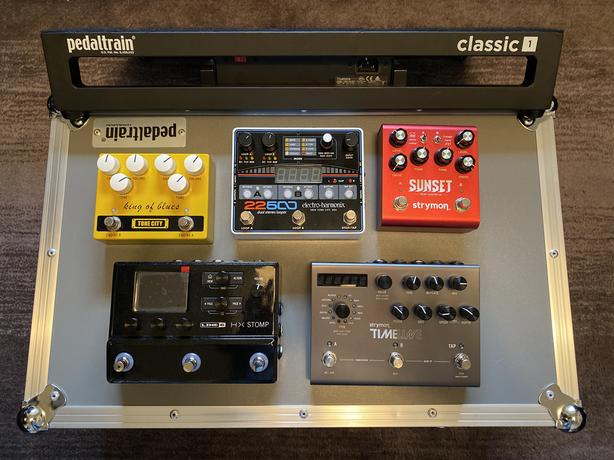 Strymon Timeline, King of Blues and CS12 Power Supply