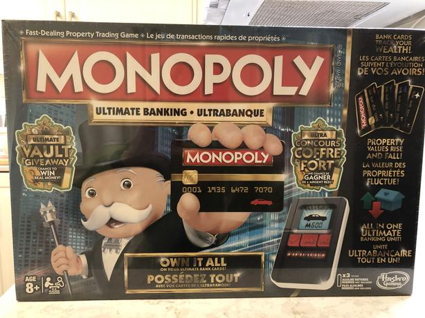 BRAND NEW Monopoly Ultimate Banking Game