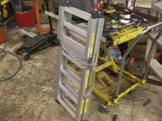 folding motobike ramp 600 pound capitiy