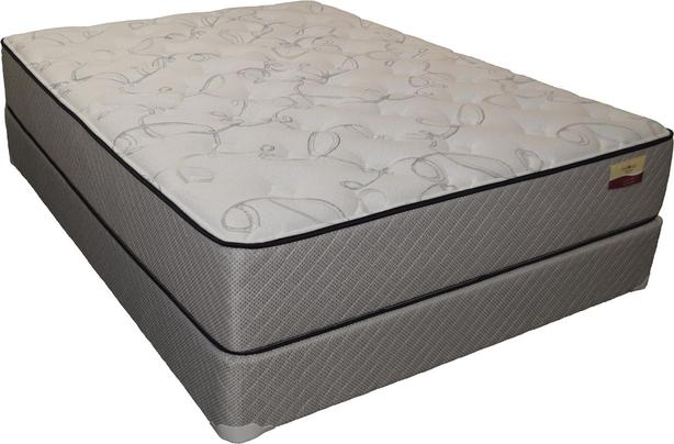 Restonic Back Aid Mattress - Queen Split Mattress - Floor Model Only