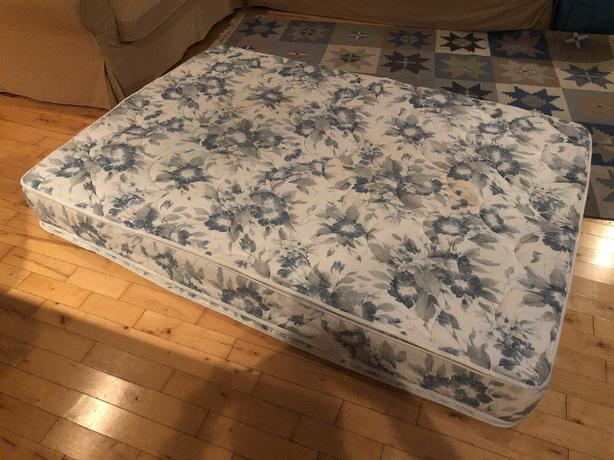 FREE: Double bed mattress