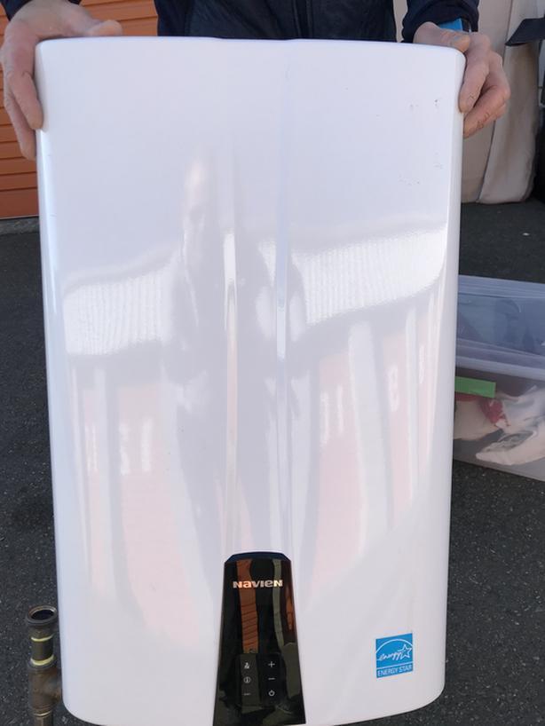 Navien NPE-240S Premium Condensing Tankless Gas Water Heater