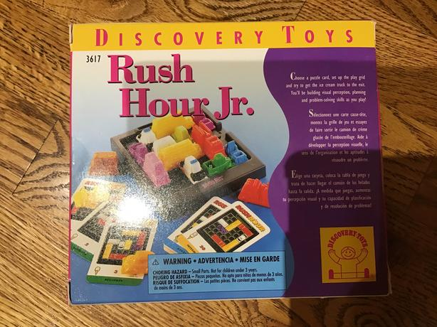 RUSH HOUR JR by DISCOVERY TOYS