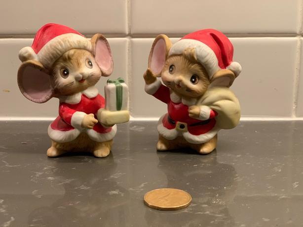 christmas mice with box