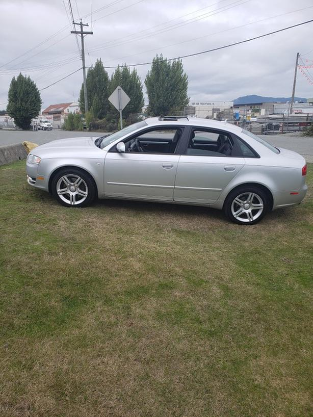 2007 AUDI A4- AUTOMATIC- ONLY 136 KM- LOCAL CAR- NO ACCIDENTS-WARRANTY