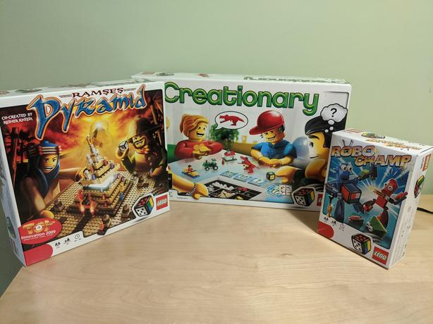 Various Lego Games
