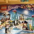 Lego Friends - Ski Lift #41324 AND Chalet #41323