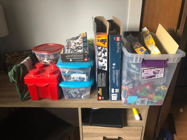 Lot of Various Lego Sets and Random