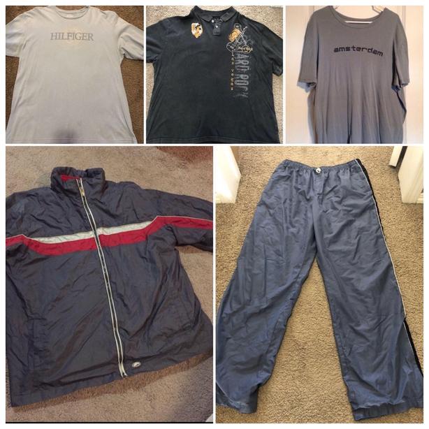 Mens Clothing Items Lot