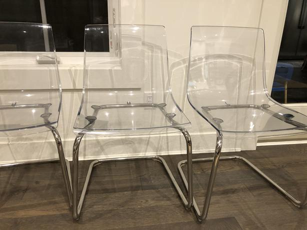 Ikea Tobias Dining Chairs Ghost Chairs Set Of 6 Victoria City Victoria Mobile