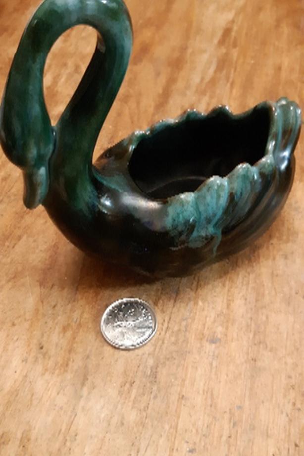 Blue Mountain Pottery Ltd. Swan Planter
