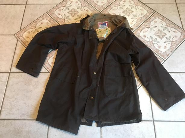 Ducks Unlimited Outdoor Oil Skin Coat
