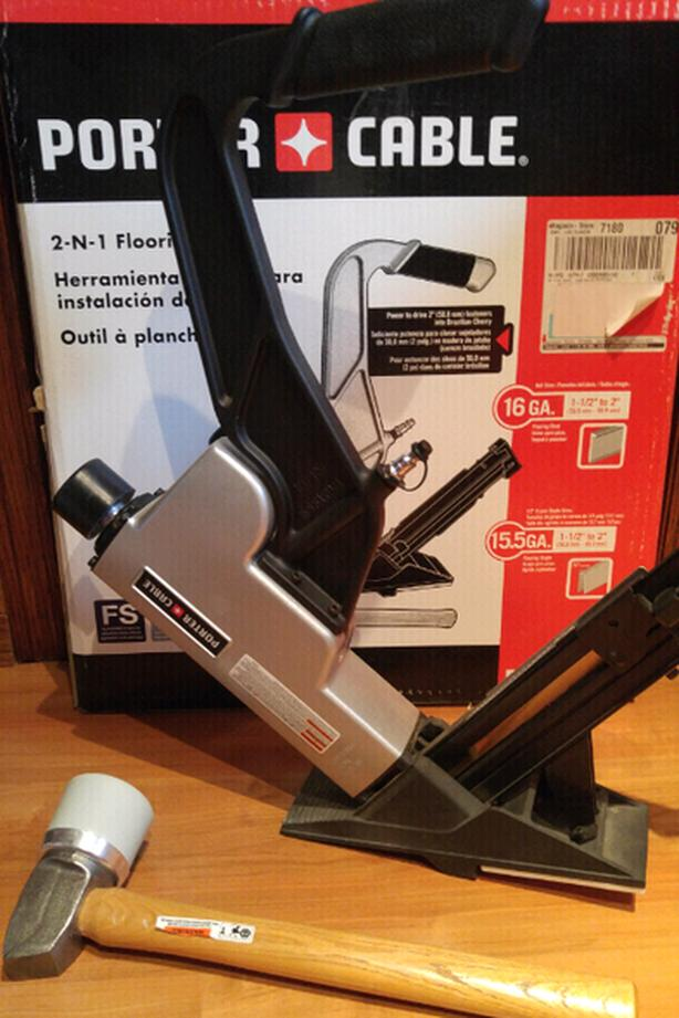 Porter - Cable 2n1 Flooring Tool