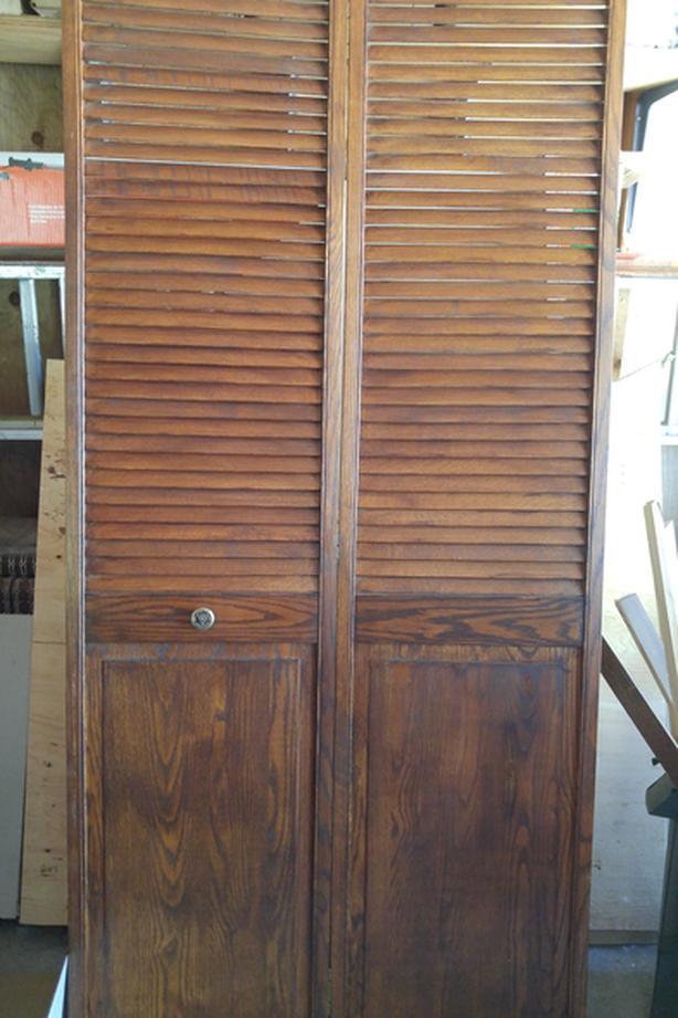Interior Oak Closet Door
