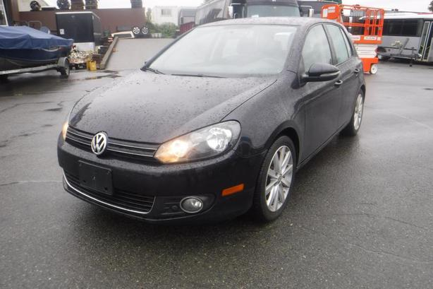 2012 Volkswagen Golf 2.0L TDI Diesel Tech Package 4 Door