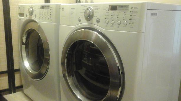 Matching LG front loader washer and dryer