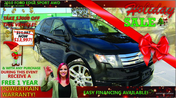 2010 Ford Edge Sport AWD - On Sale Now !!