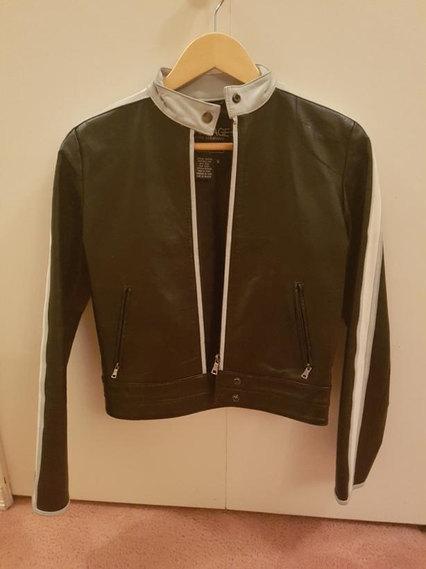 Gorgeous size small leather jacket