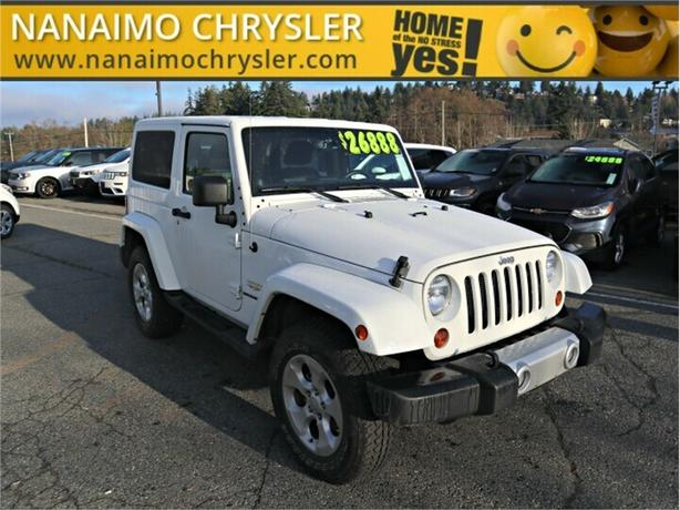 2013 Jeep Wrangler Sahara One Owner No Accidents