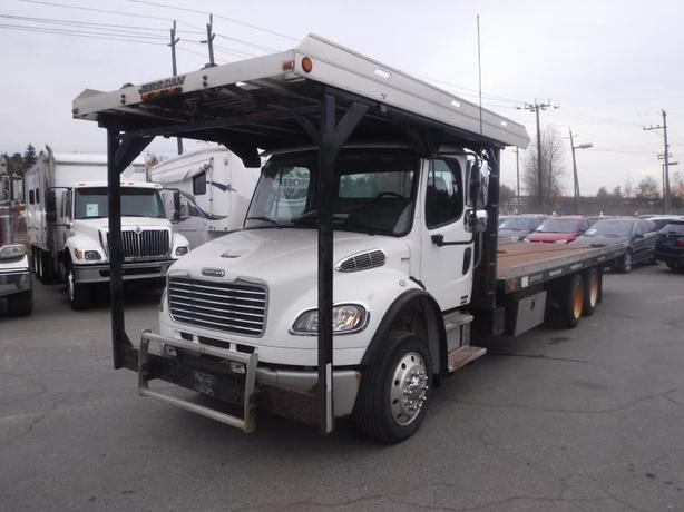 2009 Freightliner M2 106 27 Foot Flat Deck Tilt Deck Two-Tier Tow Truck Diesel w