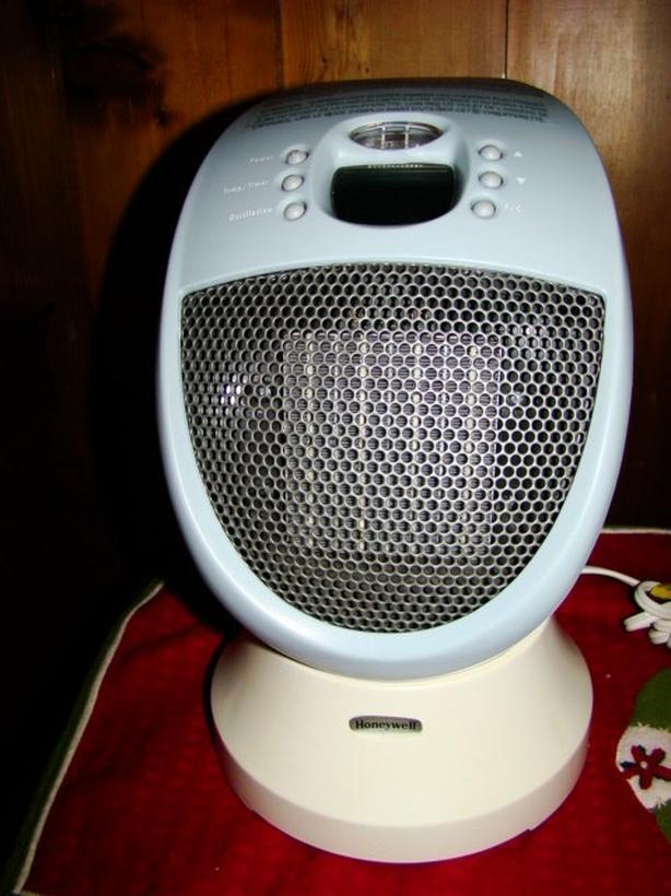 Oscillating Ceramic Heater