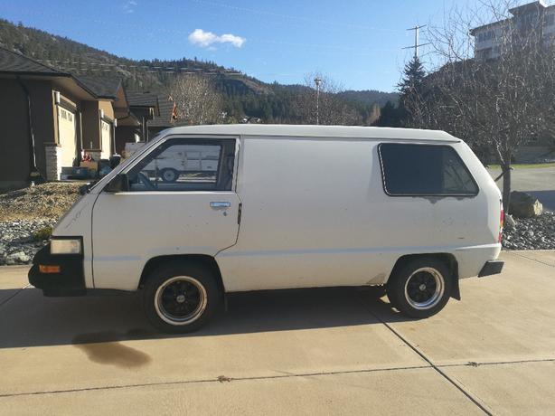 Toyota (collector) 1988 Cargo Van