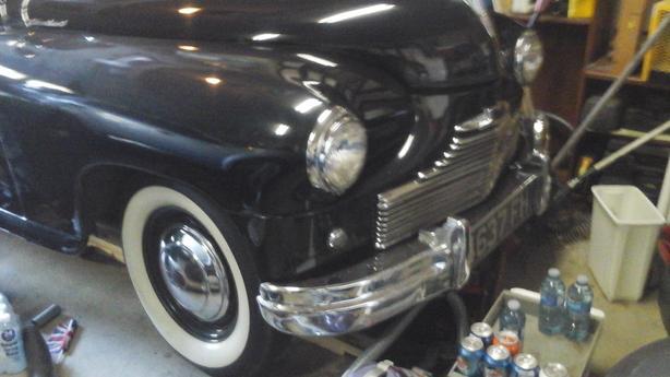 1950 Triumph standard vanguard