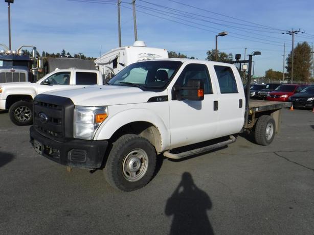 2012 Ford F-350 SD XL Crew Cab 4WD 8 Foot Flat Deck