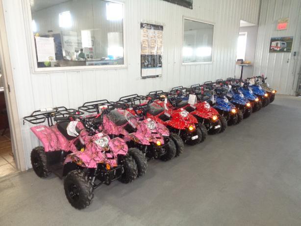 TAOTAO YOUTH ATVs GO CARTS AND DIRT BIKES