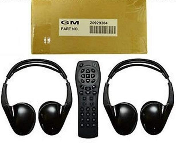 GMC Part #20929304 Rear Entertainment Wireless Headphones remote