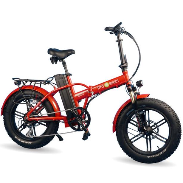 RTG 500 XT Fat Tire Folding E-Bike
