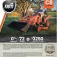 Kioti CS SERIES 22-25 HP