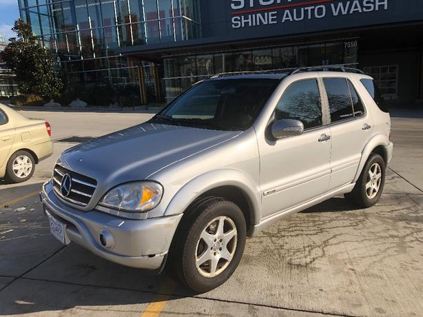 2006 MERCEDES  ML500 -SUV-AWD-$5995-V8-AUTO-$5995-LIKE NEW-$5995
