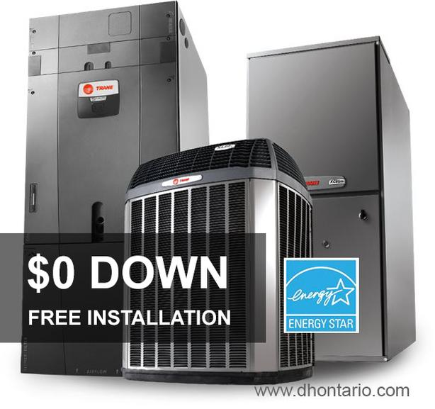 Furnace - Air Conditioner - $0 down - NO Credit Check - Call