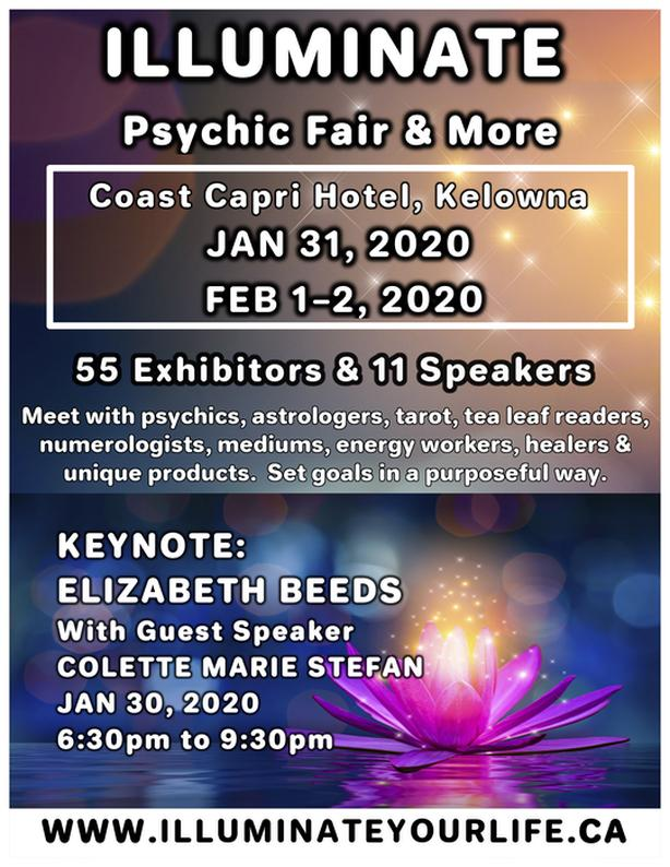 Illuminate 2020 Psychic Fair & More