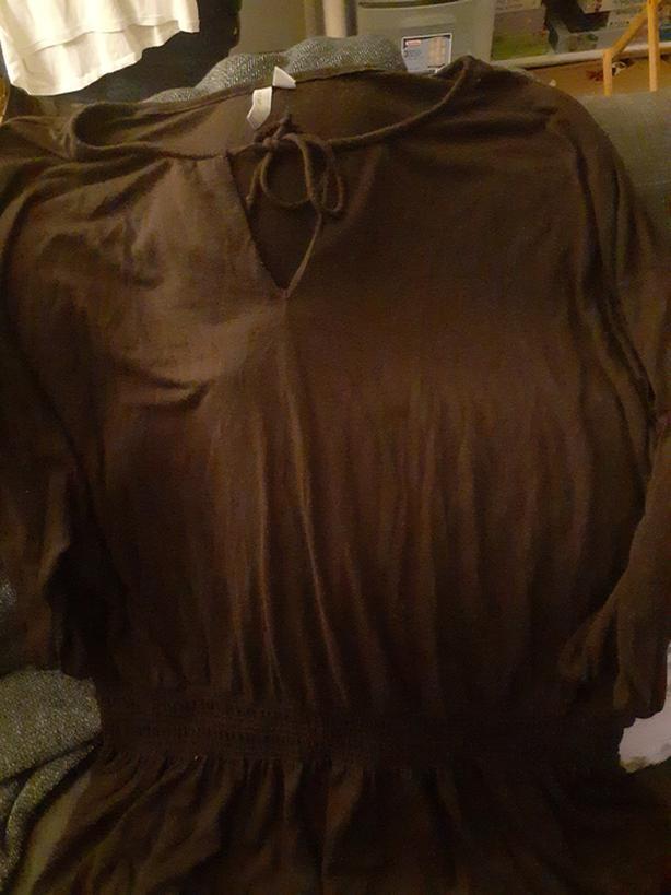 Ladies brown top