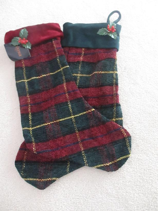 New Prestige Tartan Christmas Stockings