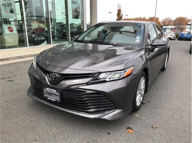 2018 Toyota Camry L One Owner Local B.C..