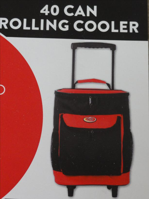 Travellers Club Insulated Rolling Cool Carry