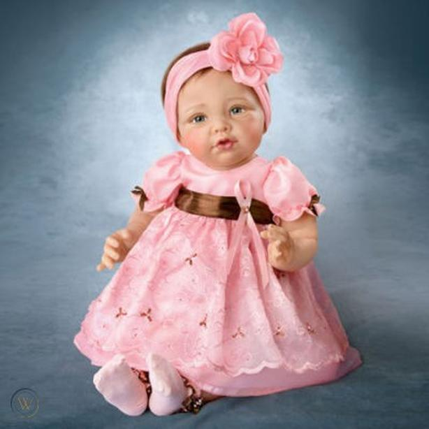 Collectible doll from Ashton-Drake Galleries