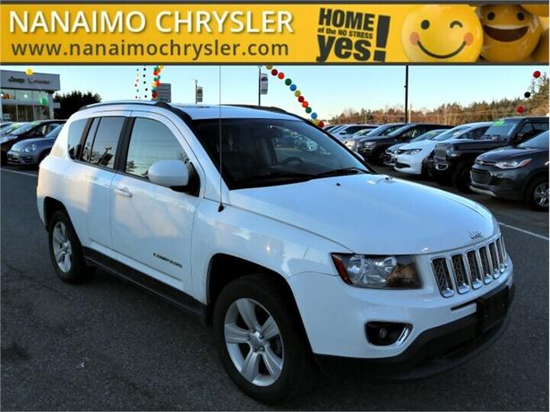 2015 Jeep Compass High Altitude Heated Seats Power Sunroof