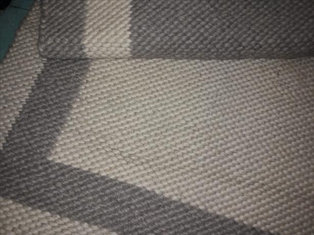 FREE: Reversible 4 x 6 wool rug