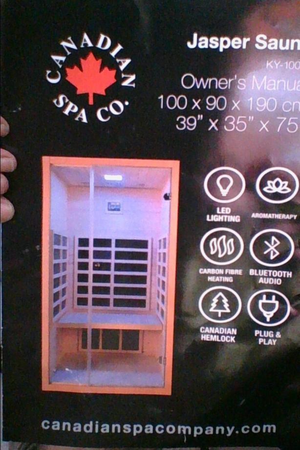 Jasper Infrared sauna