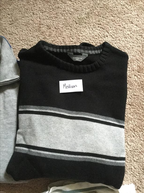 3-Men's pullover sweaters
