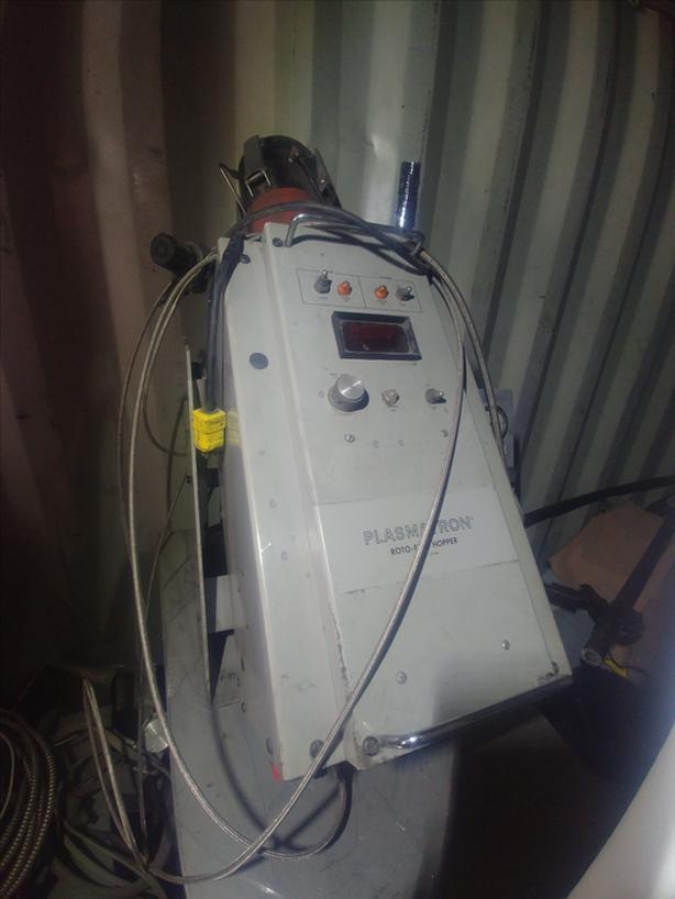 Plasmatron Roto-Feed Hopper Power Feeder